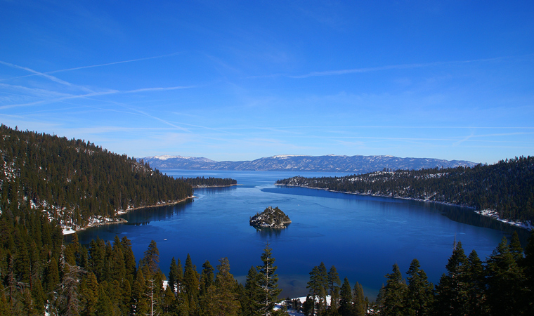 Emerald Bay Natural Attractions in the High Sierra