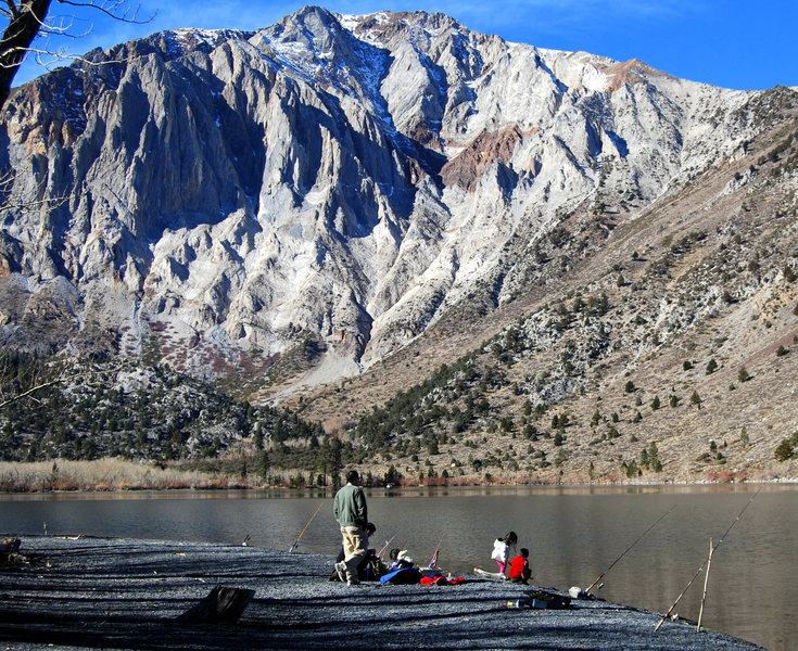 Convict Lake Best Lakes In the high sierra